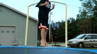 how to do a backflip 360 on a tramp
