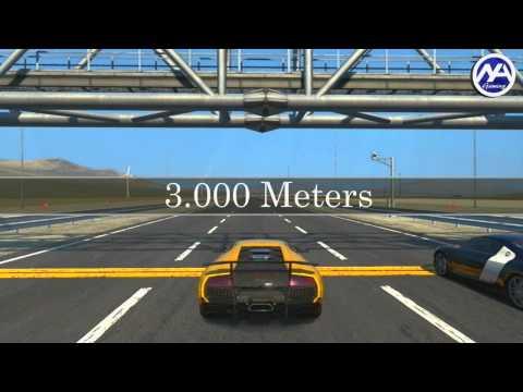 GT5 | Drag Race : Lamborghini Murcielago SV