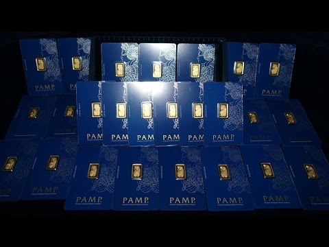 25 Gold Pamp Suisse Lady Fortuna Bars