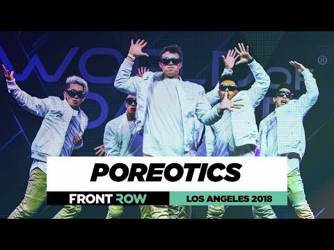 Poreotics |  FrontRow | World of Dance Los Angeles 2018 | #WODLA18
