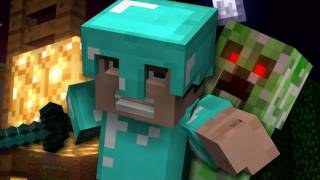 """Revenge"" - A Minecraft Parody of Usher's DJ Got Us Fallin' In Love (Music Video)"