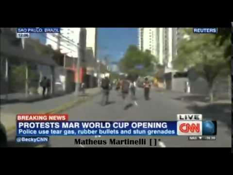CNN: Speaking about the protests in Brazil [12/06/2014]