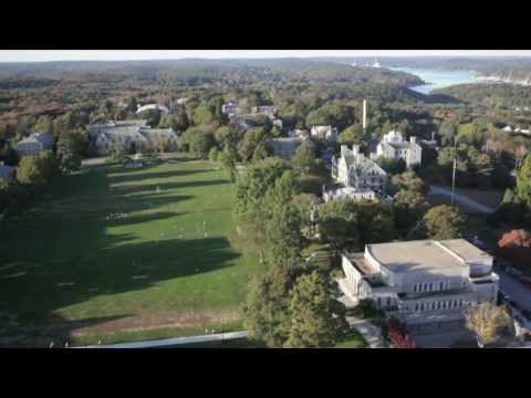 Aerial Tour of Connecticut College