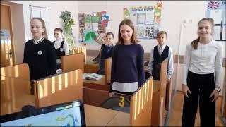 Веселая физкультминутка на уроке английского языка