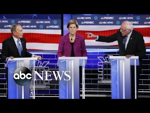 Democratic candidates go after Bloomberg in heated debate    ABC News