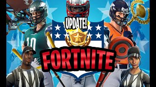 ALL NEW NFL FORTNITE SKINS! IN DEPTH REVIEW OF ALL 32 TEAMS, PICK AXES, GLIDERS AND MORE!