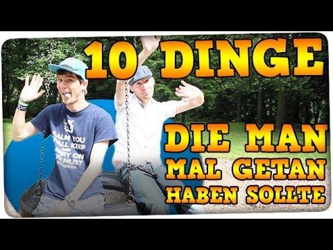 10 Dinge, die man mal getan haben sollte - mit ForbiddenNickname #Fanta100