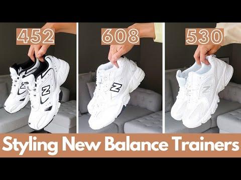 NEW BALANCE TRAINERS 452 - 608 - 530