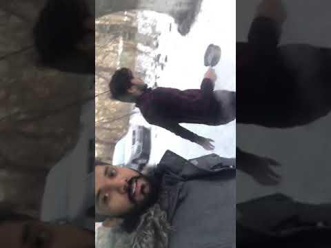 Bishkek weather -25°c 2018 boil  water freez automatically