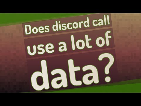 Does discord call use a lot of data?