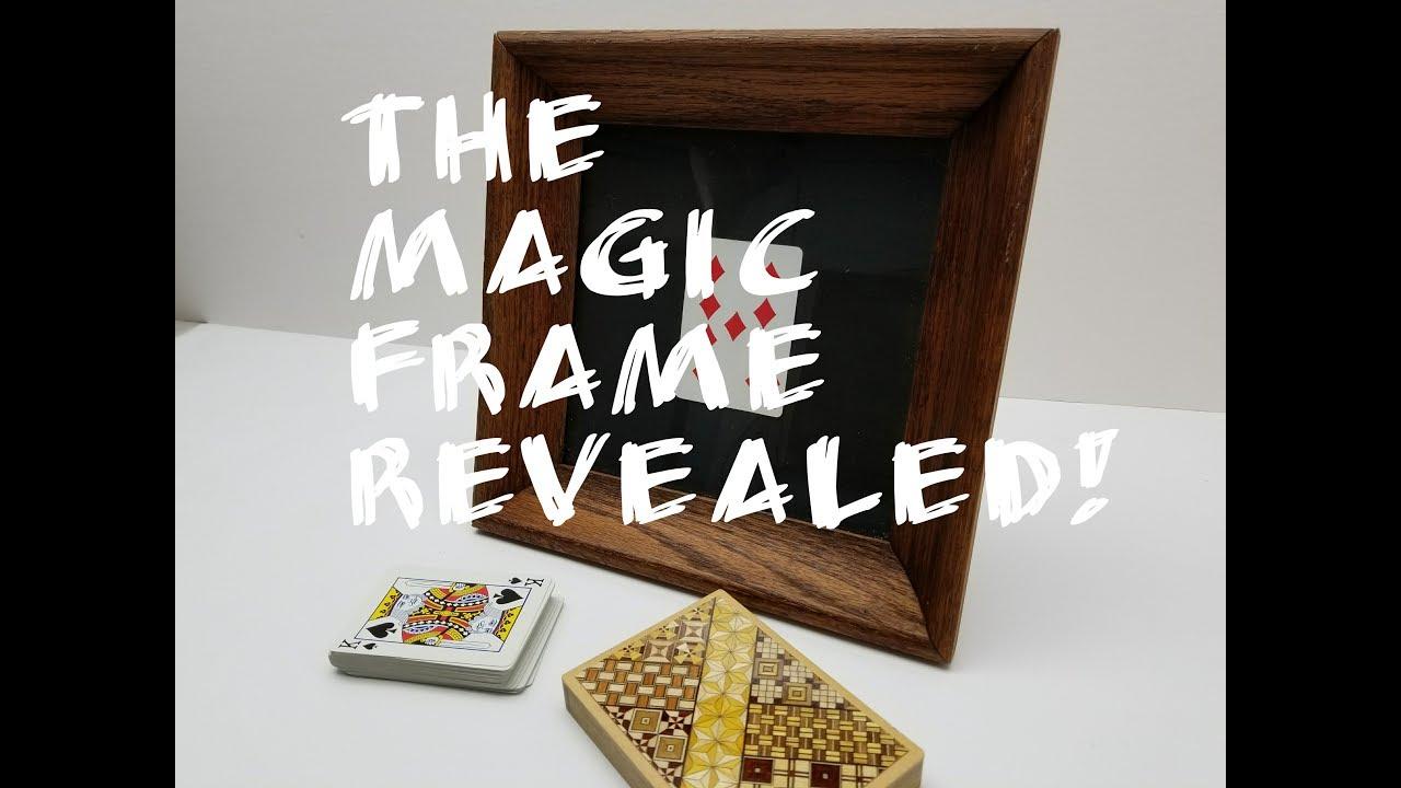 The Magic Frame Trick - Part 2 REVEALED!!! - YouTube