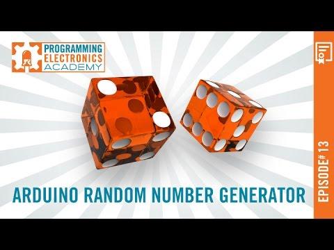 Arduino Pseudo Random Non-Consecutive Number Generator