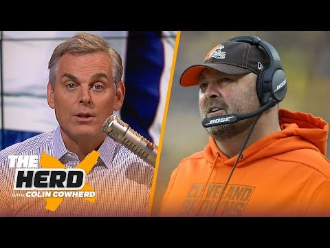 Patriots' only problem is WR depth, Colin says Freddie Kitchens' days are numbered | NFL | THE HERD