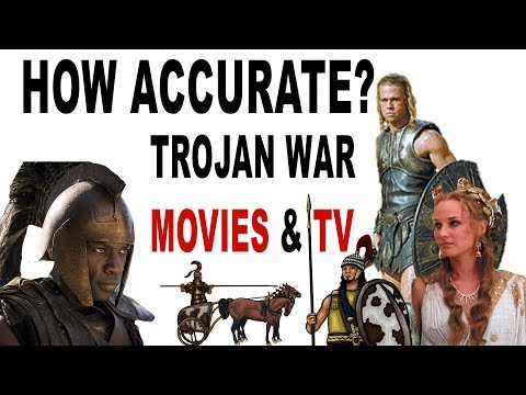 How Accurate Are Trojan War Movies And TV Shows? Helen Of Troy, Troy Fall Of A City And More