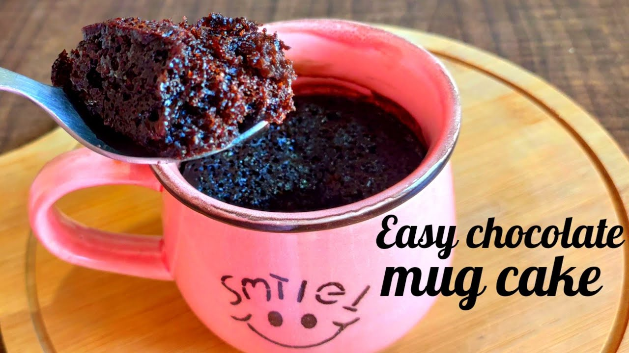 Chocolate Mug Cake No Cocoa Powder No Maida Eggless And No Oven Chocolate Mug Cake In Lock Down Youtube