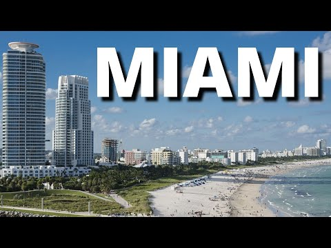 City Break to Miami USA Best Vacation Tour Holiday Guide Video 2018