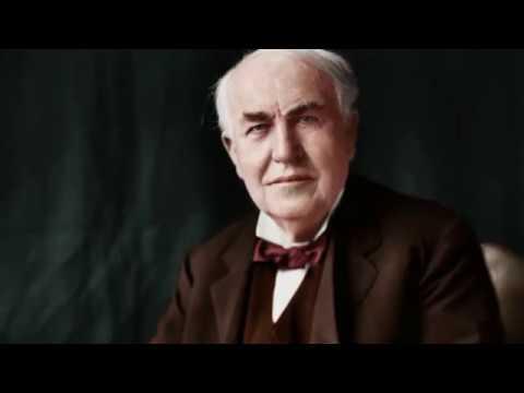 Thomas Alva Edison Life History In Tamil And Motivational
