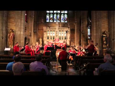 Telemann's Overture-Suite in D major from Tafelmusik - New York Baroque Incorporated (Aria)