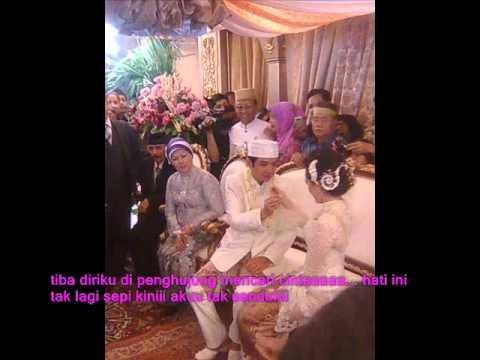 pernikahan pasha dan adelia slide photo