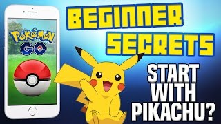 Pokemon Go Beginner Tutorial - Pikachu, How to Play, Where to go!