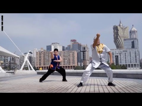 رقص نابع من الفنون القتالية في الصين  - 10:53-2019 / 1 / 12