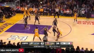 Utah Jazz vs LA Lakers Full Game Highlights (HD) | April 13, 2016 | NBA 2016
