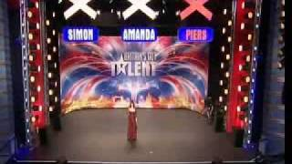 Britains Got Talent 2009- Ep 5- Emma Amelia Pearl Czikai