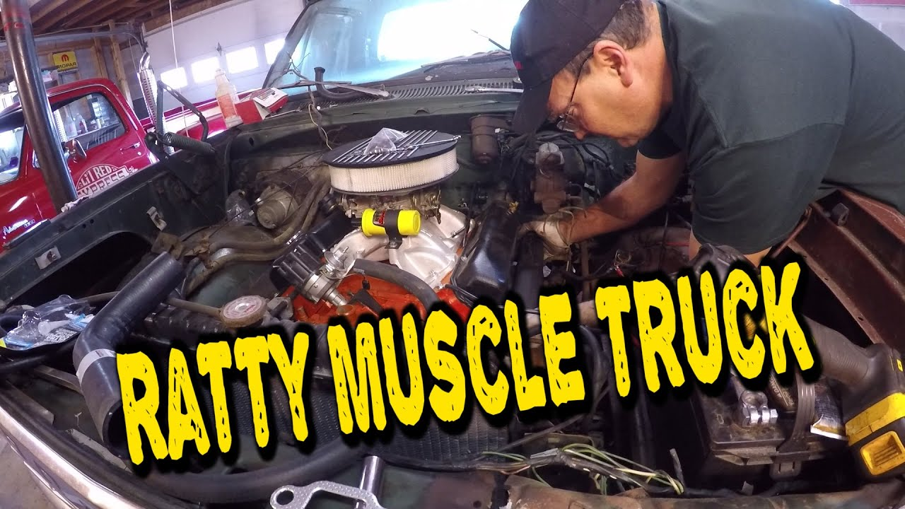 RATTY MUSCLE TRUCK Nearly Ready to Fire!