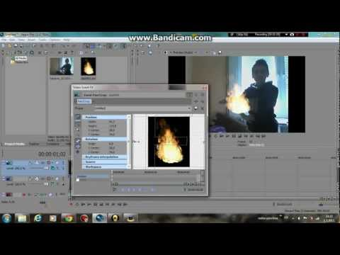 Sony Vegas Pro 11 Tutorial - HOW TO - EP:2 [ How To Make Fire Effects ]