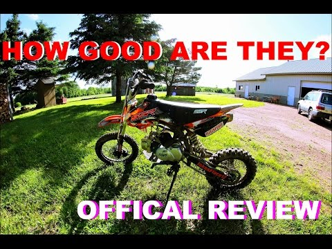 2016 SSR 125 Pit Bike Review - Moto Vlog #36