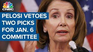 Nancy Pelosi vetoes Banks and Jordan for January 6 committee