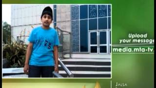 English - MTA Video Message from UK - Jalsa Salana 2012 Germany - Islam Muslim Ahmadiyyat MTA