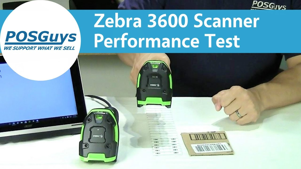 Zebra 3600 Ultra Rugged Scanner Performance Test