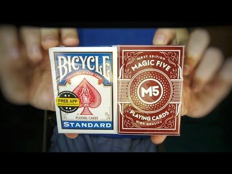 СРАВНЕНИЕ КАРТ MAGIC FIVE и BICYCLE | обзор колоды м5 | Что лучше какие карты M5 или BYCICLE