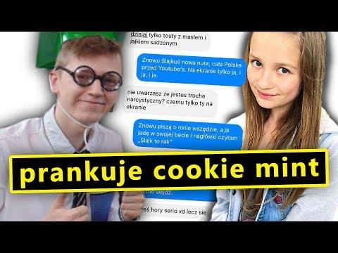 """Prankuje COOKIE MINT tekstem piosenki """"SEXMASTERKA - RAK"""""""
