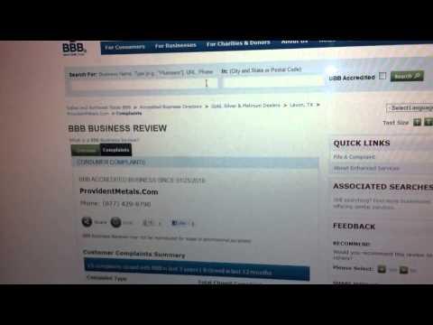 BBB & Precious Metals Businesses-- 1