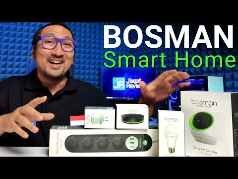 Solusi Canggih dan Murah: Review Bosman Smart Home