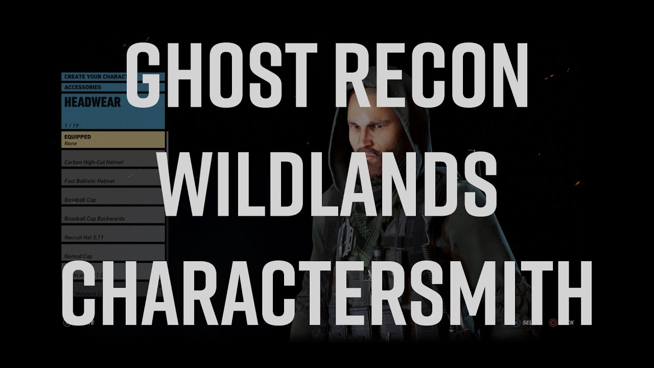 Ghost Recon Wildlands Character Creation is Flat Out Amazing