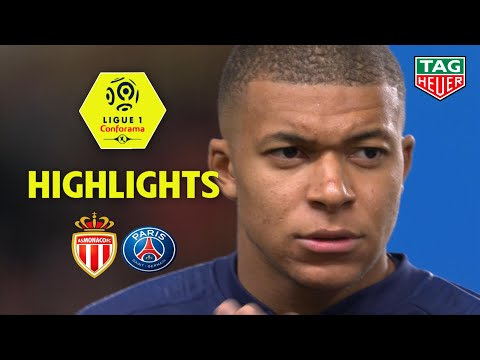 AS Monaco - Paris Saint-Germain ( 0-4 ) - Highlights - (ASM - PARIS) / 2018-19