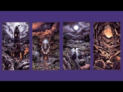 Фрагмент видеокурса по Таро Чёрных Гримуаров  Башня, Звезда, Луна, Солнце