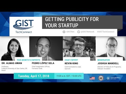 GIST TechConnect: Getting Publicity for Your Startup