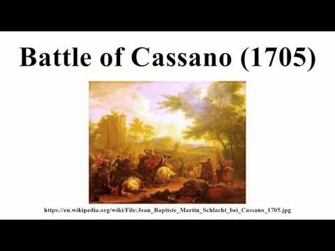Battle of Cassano (1705)