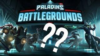 PALADINS BATTLE... GROUNDS?