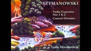 Karol Szymanowski - Violin Concerto No. 2, Op. 61 [Mordkovitch - Sinaisky]