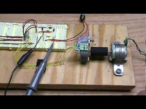 Stepper Motors As Generators Youtube