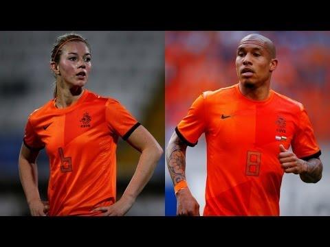 Oranjegevoel van Anouk Hoogendijk: 'Ik speel als Nigel de Jong'