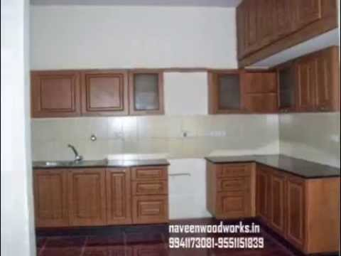 Modular kitchen pvc doors wood work pvc partitions for Wooden modular kitchen designs