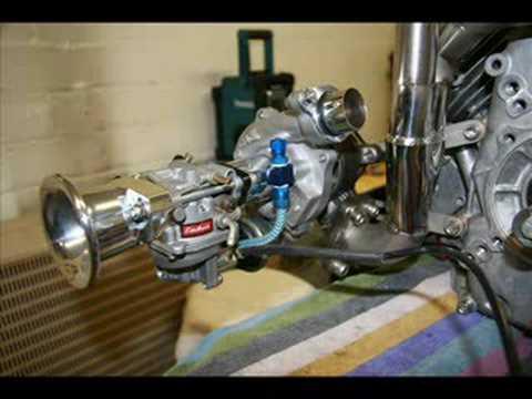 Honda GX 620 Turbo V2 - YouTube