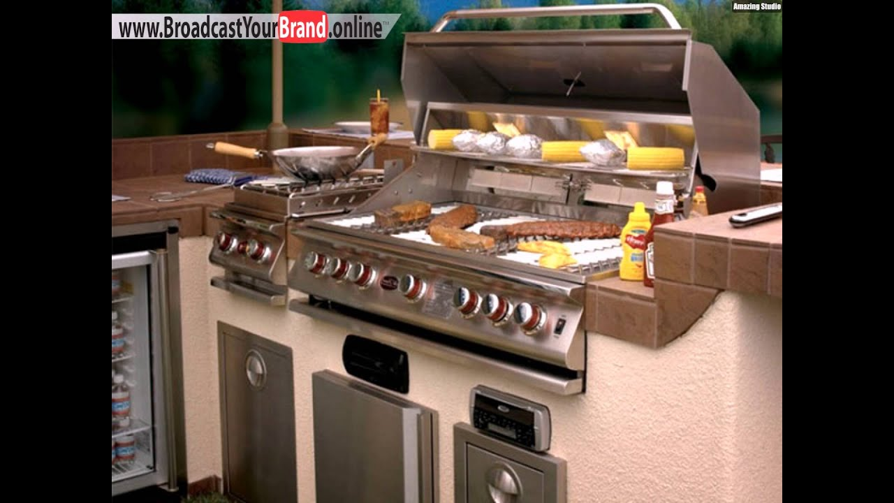 Outdoor Küche Box Grill Für Die Outdoor Küche Youtube
