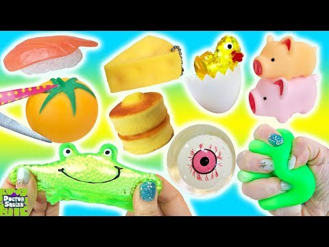Can You Buy Good Squishy Toys For $1.00? Dollar Store Squishy Haul Doctor Squish